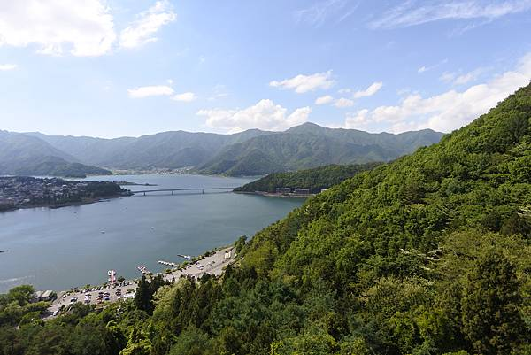 日本山梨県河口湖天上山公園 カチカチ山ロープウェイ (40).JPG