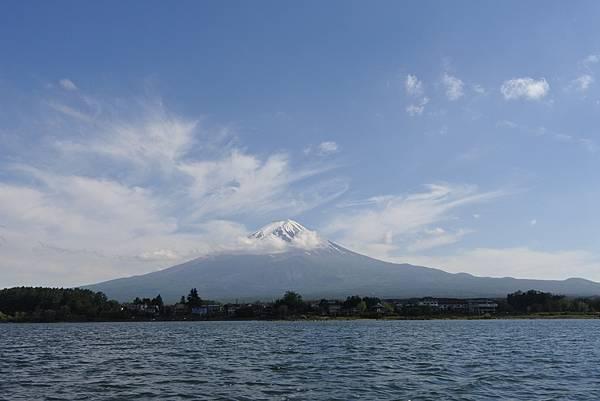 日本山梨県河口湖モーターボート (6).JPG
