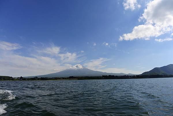 日本山梨県河口湖モーターボート (7).JPG