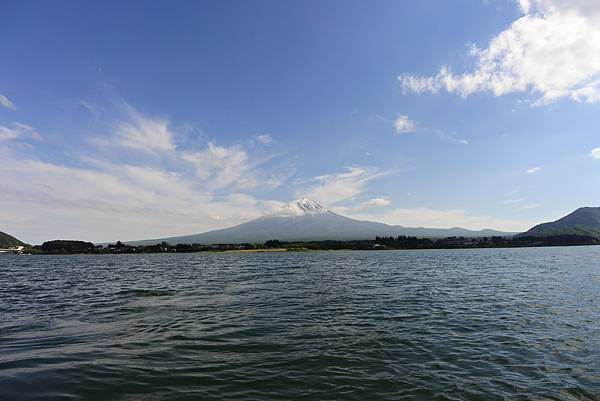 日本山梨県河口湖モーターボート (8).JPG