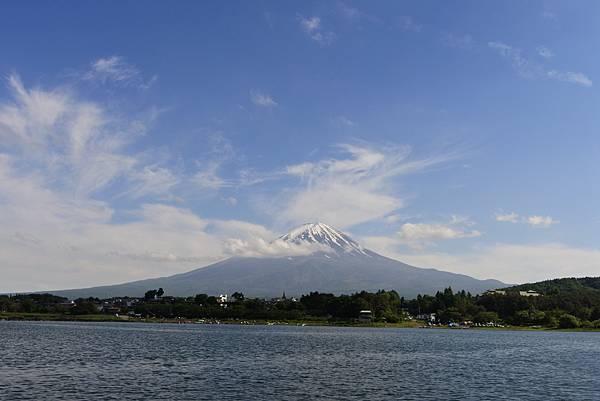 日本山梨県河口湖モーターボート (11).JPG