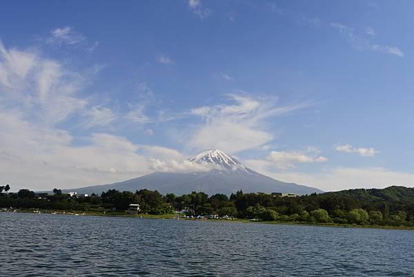 日本山梨県河口湖モーターボート (13).JPG