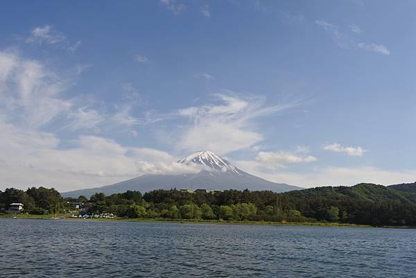 日本山梨県河口湖モーターボート (14).JPG