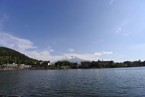 日本山梨県河口湖モーターボート (30).JPG