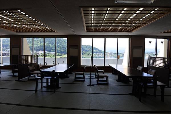日本山梨県湖楽おんやど富士吟景:レストラン「麗峰」 (12).JPG