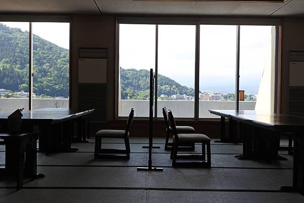 日本山梨県湖楽おんやど富士吟景:レストラン「麗峰」 (13).JPG