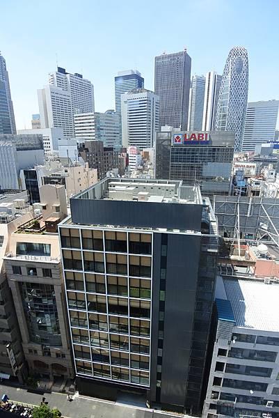 日本東京都JR九州ホテルブラッサム新宿:ツイン (5).JPG
