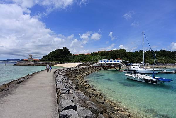 日本沖縄県ブセナ海中公園:ガラス底ボート (11).JPG
