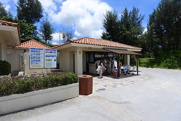 日本沖縄県ブセナ海中公園:ガラス底ボート (15).JPG