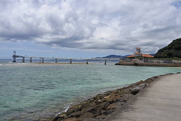 日本沖縄県ブセナ海中公園:海中展望塔 (2).JPG