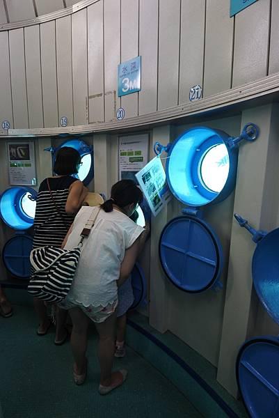 日本沖縄県ブセナ海中公園:海中展望塔 (23).JPG