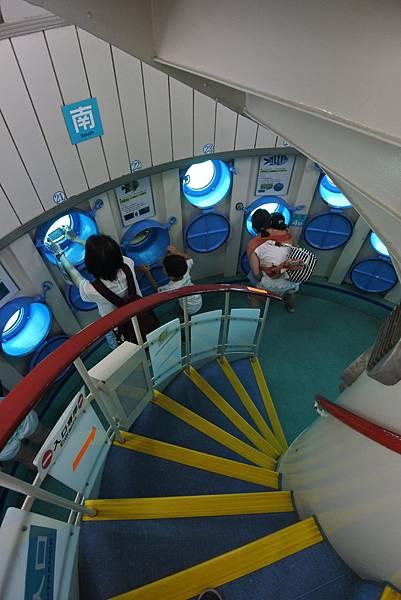 日本沖縄県ブセナ海中公園:海中展望塔 (47).JPG