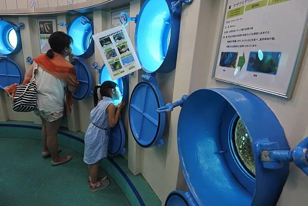 日本沖縄県ブセナ海中公園:海中展望塔 (50).JPG