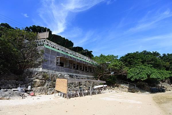 日本沖縄県浜辺の茶屋 (2).JPG