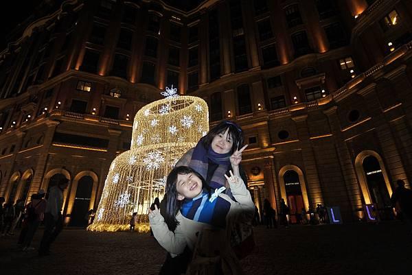 台北文華東方酒店耶誕燈飾 (2).JPG