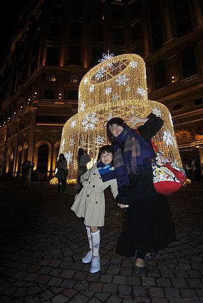 台北文華東方酒店耶誕燈飾 (1).JPG