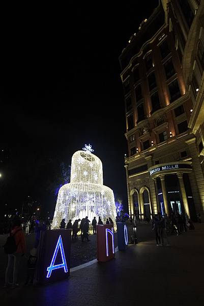 台北文華東方酒店耶誕燈飾 (7).JPG