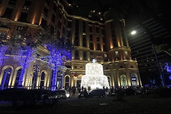 台北文華東方酒店耶誕燈飾 (13).JPG