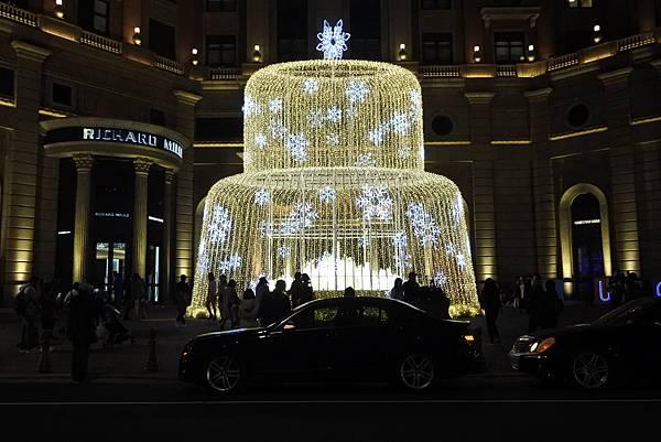 台北文華東方酒店耶誕燈飾 (16).JPG