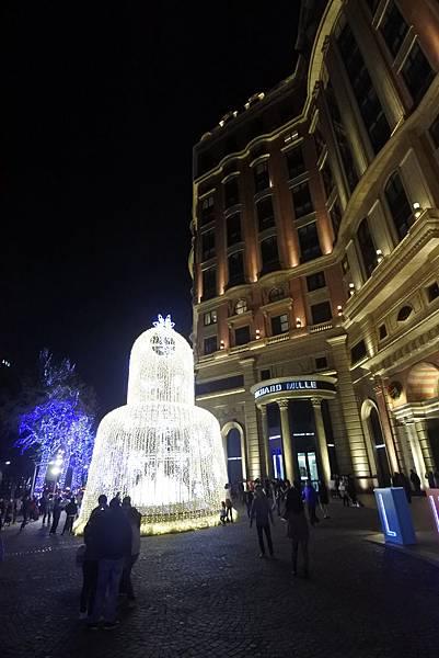 台北文華東方酒店耶誕燈飾 (20).JPG
