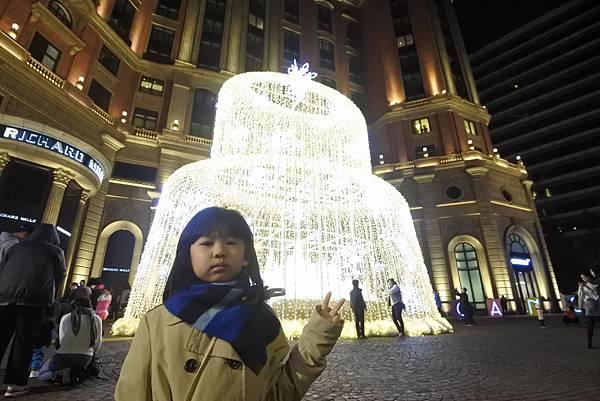 台北文華東方酒店耶誕燈飾 (31).JPG