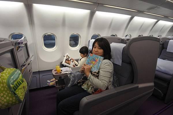 亞亞的商務艙初體驗 (4).JPG