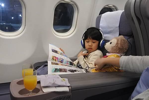 亞亞的商務艙初體驗 (14).JPG