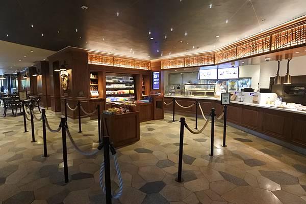 香港迪士尼探索家度假酒店:星航圖咖啡廳 (3).JPG