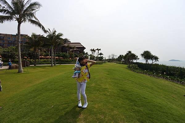 香港迪士尼探索家度假酒店:小海龜庭園 (30).JPG