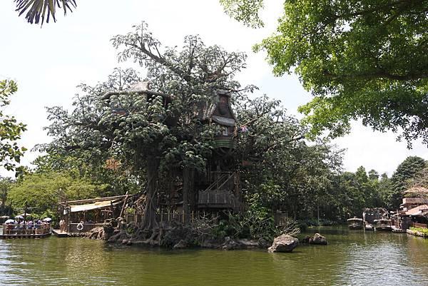 香港迪士尼樂園:森林河流之旅+加利布尼市集 (5).JPG