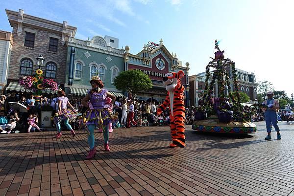 香港迪士尼樂園:迪士尼明星嘉年華列車 (45).JPG