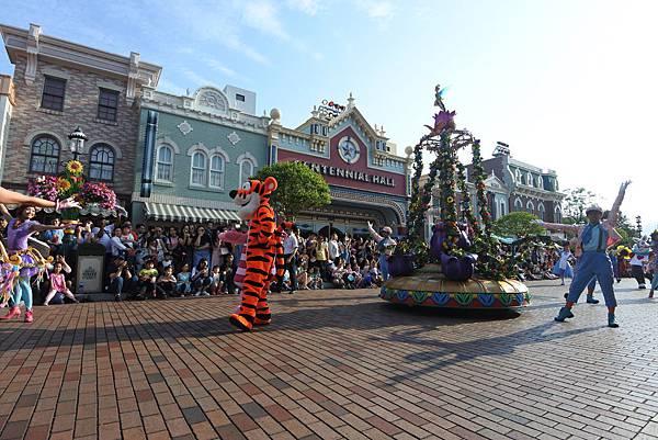 香港迪士尼樂園:迪士尼明星嘉年華列車 (47).JPG