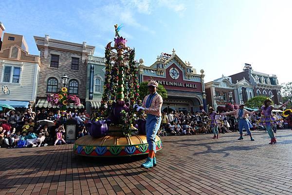 香港迪士尼樂園:迪士尼明星嘉年華列車 (49).JPG