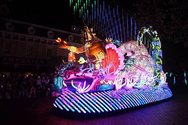 香港迪士尼樂園:「迪士尼光影匯」夜間巡遊 (10).JPG
