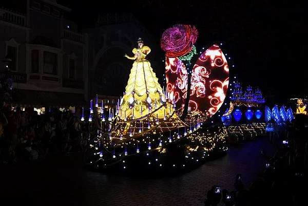 香港迪士尼樂園:「迪士尼光影匯」夜間巡遊 (16).JPG
