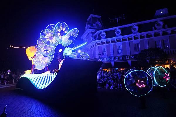 香港迪士尼樂園:「迪士尼光影匯」夜間巡遊 (24).JPG