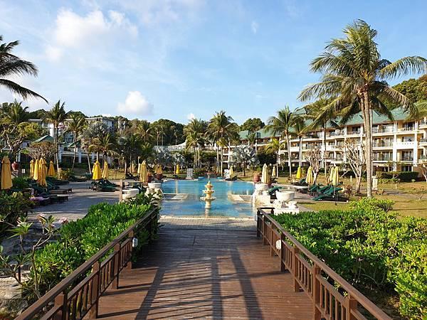 印尼民丹島Angsana Bintan:Pool (18).jpg