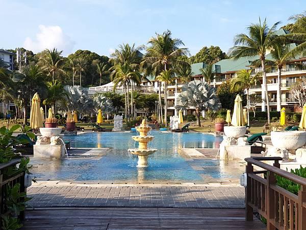 印尼民丹島Angsana Bintan:Pool (20).jpg