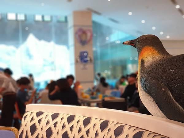 中國廣東省長隆企鵝酒店:帝企鵝自助餐廳 (61).jpg