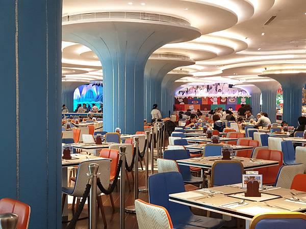 中國廣東省長隆企鵝酒店:帝企鵝自助餐廳 (72).jpg