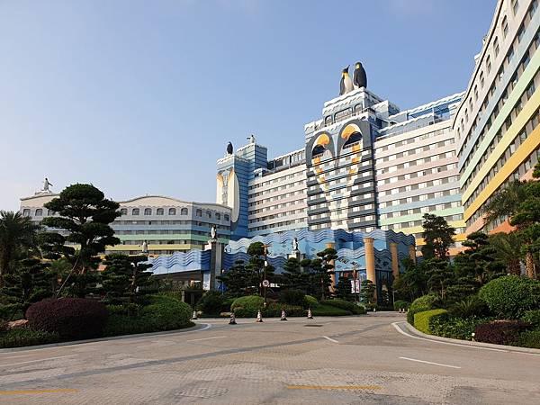 中國廣東省長隆企鵝酒店:酒店大堂+外觀 (8).jpg