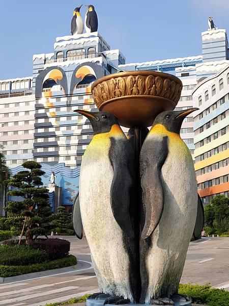 中國廣東省長隆企鵝酒店:酒店大堂+外觀 (11).jpg