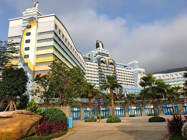 中國廣東省長隆企鵝酒店:酒店大堂+外觀 (14).jpg