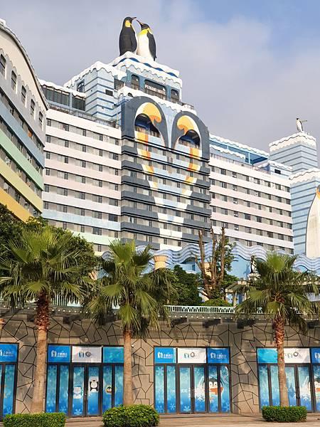 中國廣東省長隆企鵝酒店:酒店大堂+外觀 (15).jpg