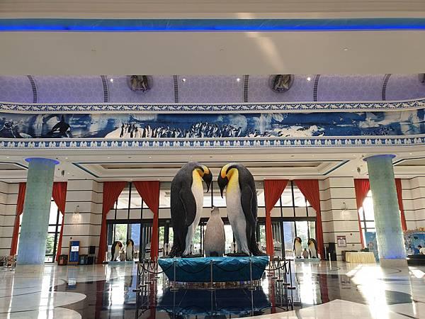 中國廣東省長隆企鵝酒店:酒店大堂+外觀 (18).jpg