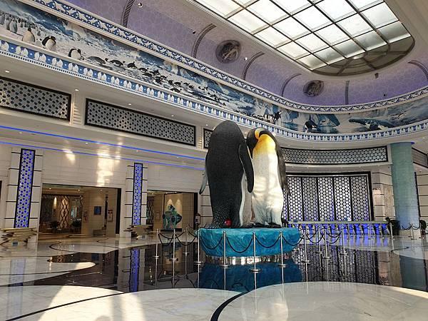 中國廣東省長隆企鵝酒店:酒店大堂+外觀 (24).jpg