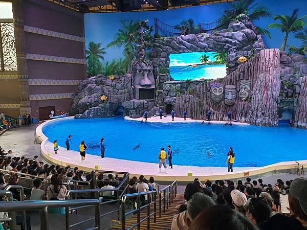中國廣東省長隆海洋王國:海豚劇場 (4).jpg