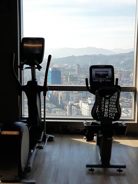 台北縣板橋市臺北新板希爾頓酒店:健身中心 (7).jpg