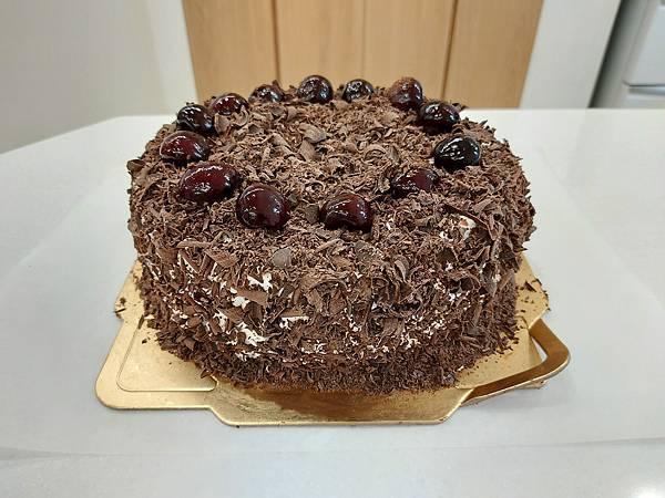 手作黑森林蛋糕《手削巧克力磚版》 (10).jpg