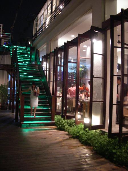 彰化市卦山月園餐廳戶外階梯.JPG